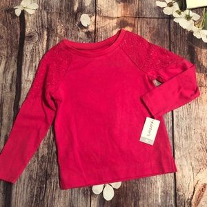Carters long sleeve shirt 4t